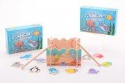 træ fiskespil - Brætspil