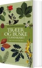 træer og buske i landskabet - bog