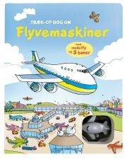 træk-op bog om flyvemaskiner - bog