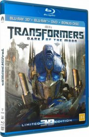 transformers 3 - the dark of the moon - 3d - Blu-Ray