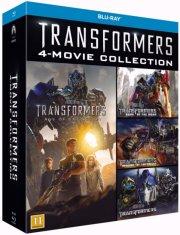 transformers boks - transformers 1-4 - Blu-Ray