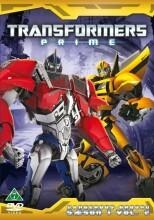 transformers prime - sæson 1 - vol. 2 - dangerous ground - DVD