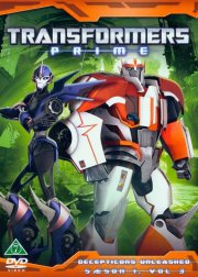 transformers prime - sæson 1 vol. 3 - DVD