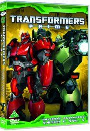 transformers prime - sæson 1 - vol. 4 - unlikely alliances - DVD