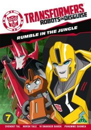 transformers: robots in disguise - rumble in the jungle - DVD