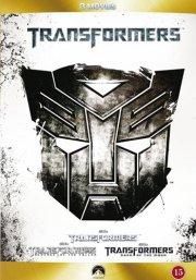 transformers 1 // transformers 2 revenge of the fallen // transformers 3 dark of the moon - DVD