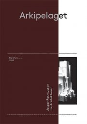 tre arkitektoner - bog