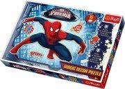 spiderman selvlysende puslespil - 15 brikker - trefl - Brætspil