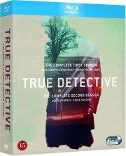 true detective - sæson 1+2 - Blu-Ray