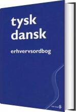 tysk-dansk erhvervsordbog - bog