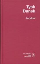 tysk-dansk juridisk ordbog - bog