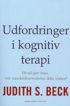 udfordringer i kognitiv terapi - bog