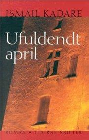 ufuldendt april - bog