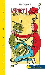 uhyret i skoletasken vender tilbage - bog