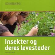 undersøg insekter og deres levesteder - bog