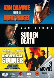 universal soldier / iskold terror på overtid / hard target - DVD