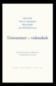 universitet og videnskab - bog