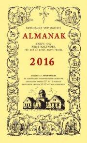universitetets almanak skriv- og rejsekalender 2016 - bog