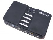 sandberg usb sound box 7.1 - lydkort - Hardware Og Tilbehør