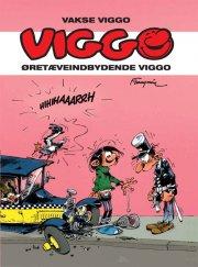 vakse viggo: øretæveindbydende viggo - bog