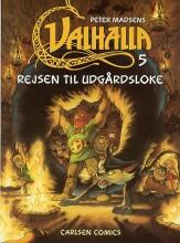 valhalla 5: rejsen til udgårdsloke - bog