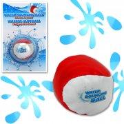 vand hoppebold - 5,5 cm - hvid/rød - Udendørs Leg