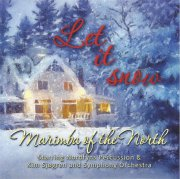 marimba of the north og kim sjøgren - let it snow - cd