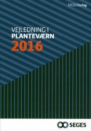 vejledning i planteværn 2016 - bog