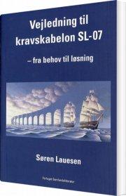 vejledning til kravskabelon sl-07 - bog