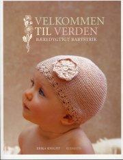 velkommen til verden - bæredygtigt babystrik af erika knight - bog