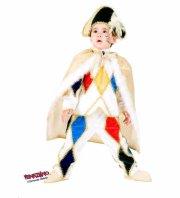 veneziano - harlequin velvet costume - 6 years (8941) - Udklædning