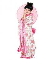 japansk geisha kostume - veneziano - 6 år - Udklædning