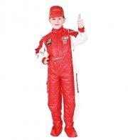 veneziano fastelavnskostume - formel 1 racerkører - 8 år - Udklædning