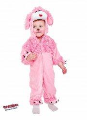hunde kostume - pink puddel - 1 år - Udklædning