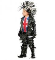 punker kostume - 6 år - veneziano - Udklædning