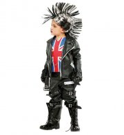 punker kostume - 8 år - veneziano - Udklædning