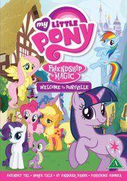 venskab er ren magi - velkommen til ponyville - DVD