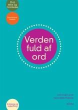 verden fuld af ord, børnehaveklassen, antologi og vejledning - bog