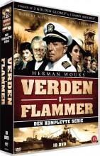 verden i flammer / war and remembrance - den komplette serie - DVD