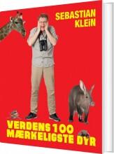 verdens 100 mærkeligste dyr - bog