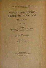 viborg landstings skøde- og pantebog 1624-1637 - bog