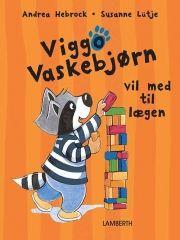 viggo vaskebjørn vil med til lægen - bog