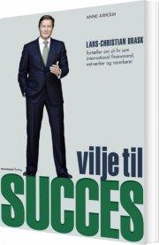 vilje til succes - bog