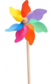 vindmølle - 38cm - træpind - Udendørs Leg