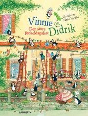 vinnie og didrik - den store fødselsdagsfest - bog