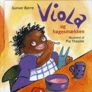 viola og hagesmækken - bog