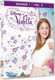violetta - sæson 1 del 2 - DVD