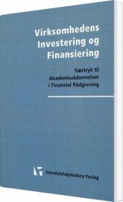 virksomhedens investering og finansiering - bog