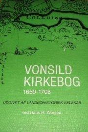 vonsild kirkebog 1659-1708 - bog