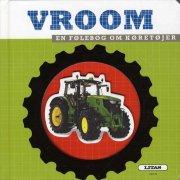 vroom - en følebog om køretøjer - bog